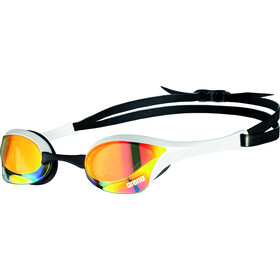 arena Cobra Ultra Swipe Mirror Brille yellow copper/white